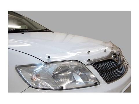 Защита фар Lexus LX 470 1998-2007 СА Пластик - фото 20728