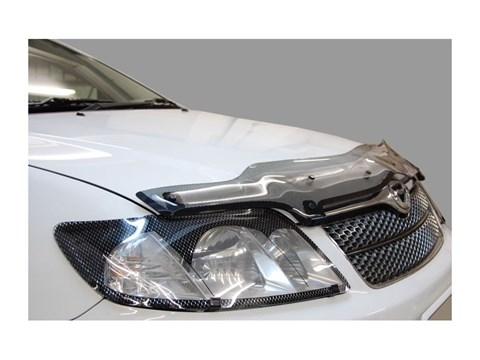 Защита фар Lexus LX 470 1998-2007 СА Пластик - фото 20733