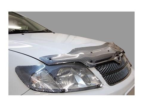 Защита фар Lexus LX 470 1998-2007 СА Пластик - фото 20737