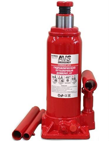 Домкрат гидравлический бутылочный HJ-B8000 - фото 23451