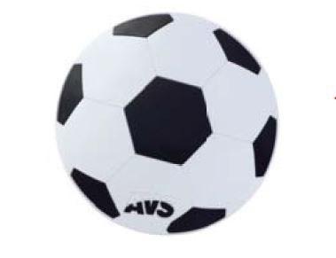 """Противоскользящий NANO коврик AVS NP-007 """"Футбольный мяч"""" (диаметр 14 см.) - фото 23872"""