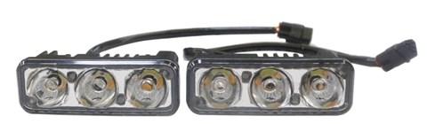 Дневные ходовые огни (DRL) Light AVS DL-3 - фото 24102