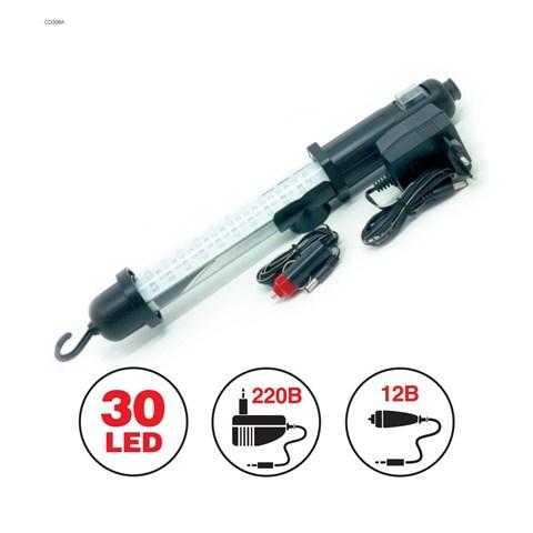 Переносной светильник CD306A 30LED 220/12V (акб) - фото 24273