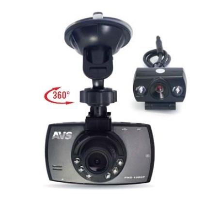 Видеорегистратор автомобильный AVS VR-246DUAL - фото 24559