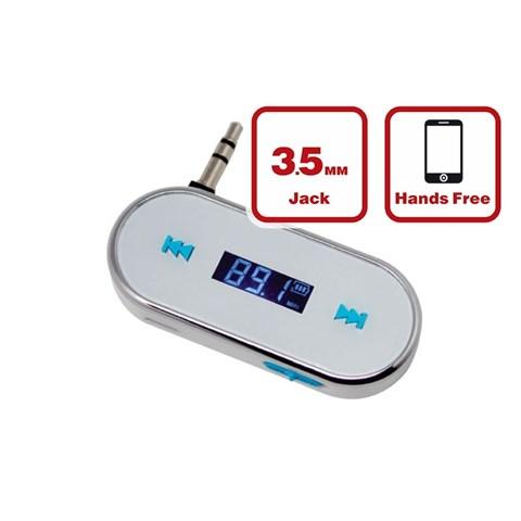MP3 плеер + FM трансмиттер с дисплеем F-316(белый) - фото 24662