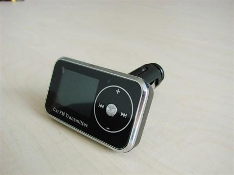 MP3 плеер + FM трансмиттер с дисплеем и пультом F-515 - фото 24668