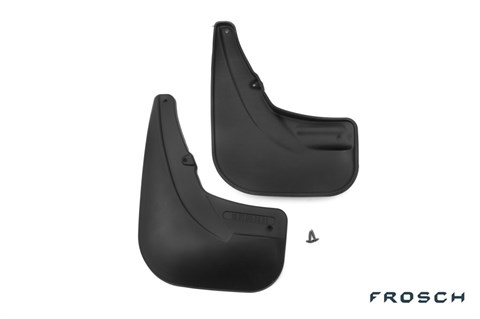 Брызговики задние Fiat Doblo 2014-2018 Novline-Autofamily - фото 24929
