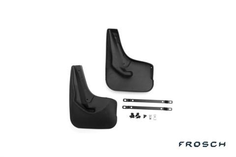 Брызговики задние Ford Focus 2015-2018 Novline-Autofamily - фото 24962