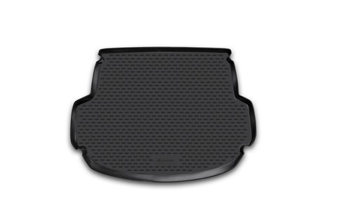 Коврик в багажник Hyundai Santa Fe 2012-2018 Novline-Autofamily - фото 26281