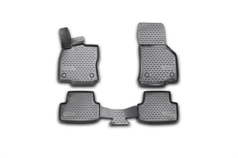 Коврики 3D в салон Volkswagen Golf 2013-2018 Novline-Autofamily - фото 27126