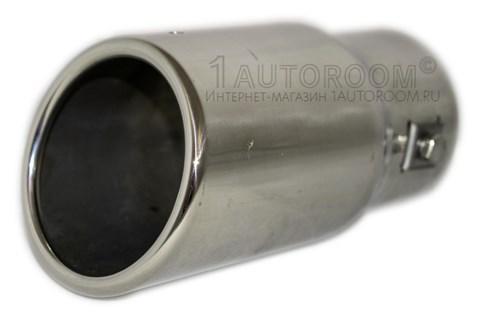 Насадка на выхлопную трубу овальная AR-6098 - фото 30756