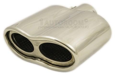 Насадка на выхлопную трубу плоская AR-8818 - фото 30928