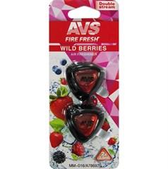 Ароматизатор AVS MM-016 Double Stream (аром. Wild Berries/Дикие ягоды) (мини мембрана)