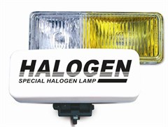 Противотуманные фары галогенные (H3) PF-116H (белый-желтый), 12V 55A H3