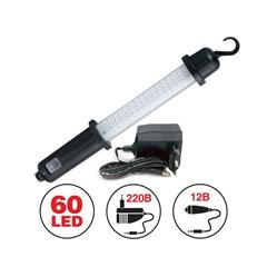 Переносной светильник CD607A 60LED 220/12B (акб)