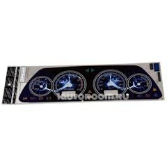 Накладка на панель приборов ВАЗ 2113-2115 VDO молния
