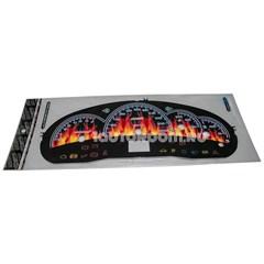 Накладка на панель приборов Лада Приора огонь