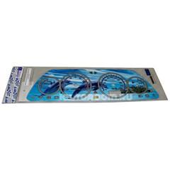 Накладка на панель приборов ВАЗ 2110-2112 VDO дельфины