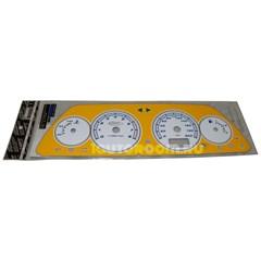 Накладка на панель приборов ВАЗ 2110-2112 VDO желтая