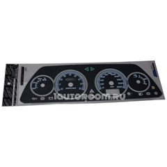 Накладка на панель приборов ВАЗ 2110-2112 VDO мокрый асфальт