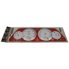 Накладка на панель приборов ВАЗ 2113-2115 Автоприбор красная