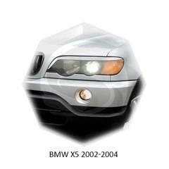 Реснички на фары BMW X5 E53 1999 – 2003 Carl Steelman