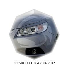 Реснички на фары Chevrolet Epica 2006 – 2012 Carl Steelman