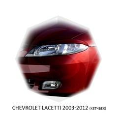 Реснички на фары Chevrolet Lacetti хэтчбек 2004 – 2013 Carl Steelman