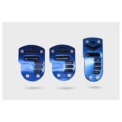 Накладки на педали AZARD 1045 черно-синие