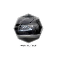 Реснички на фары УАЗ Patriot 2014 – 2018 I рестайл Carl Steelman